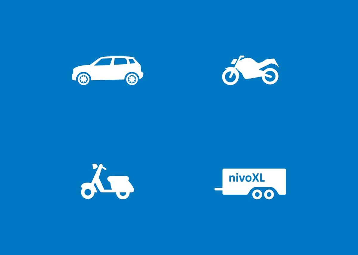 Rijschool NivoXL iconen door Wielands.nl